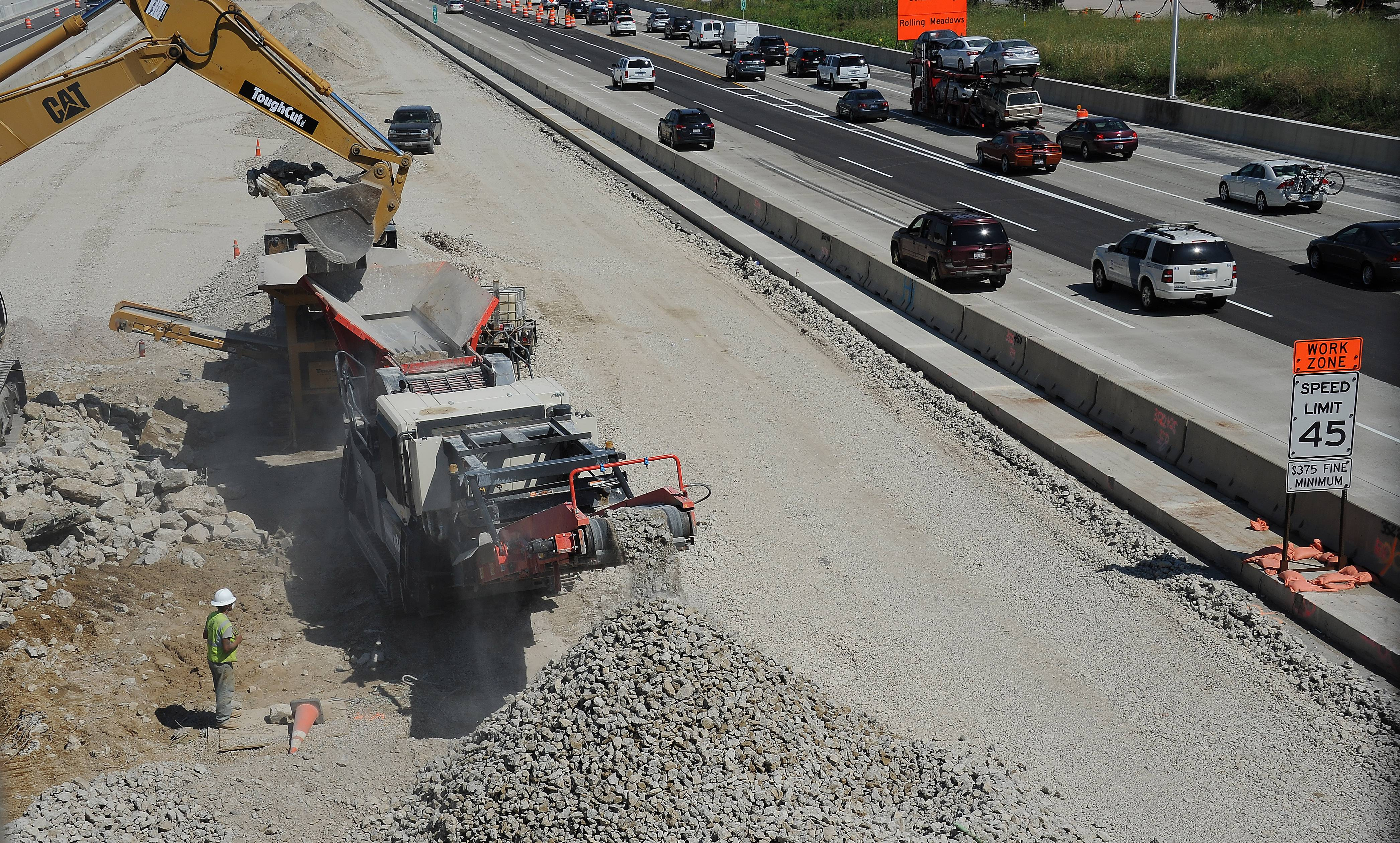 Picket of I-90 contractor resolved