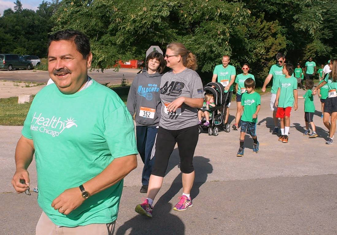 Mayor Ruben Pineda is inviting West Chicago residents to take part in the Move With the Mayor challenge with him during the month of September. Every Saturday, Pineda will lead a 30-minute walk to help get people active.