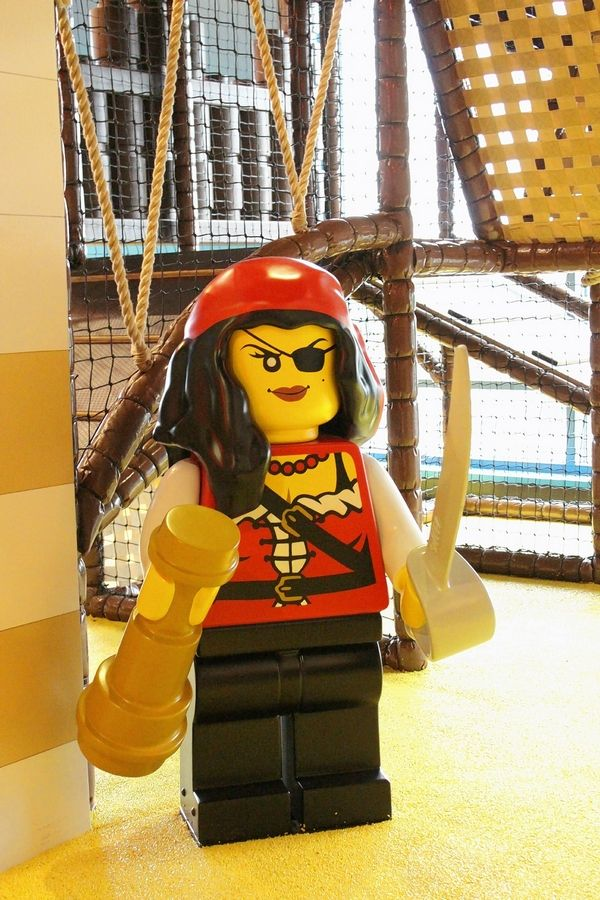 The Legoland Discovery Center at Streets of Woodfield in Schaumburg hosts a Pirate Adventure Weekend Friday through Monday, Sept. 2-5.