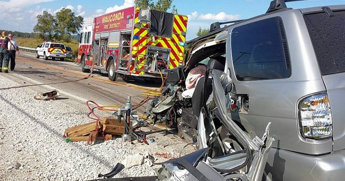 Crash Near Wauconda On Fairfield Road Injures One