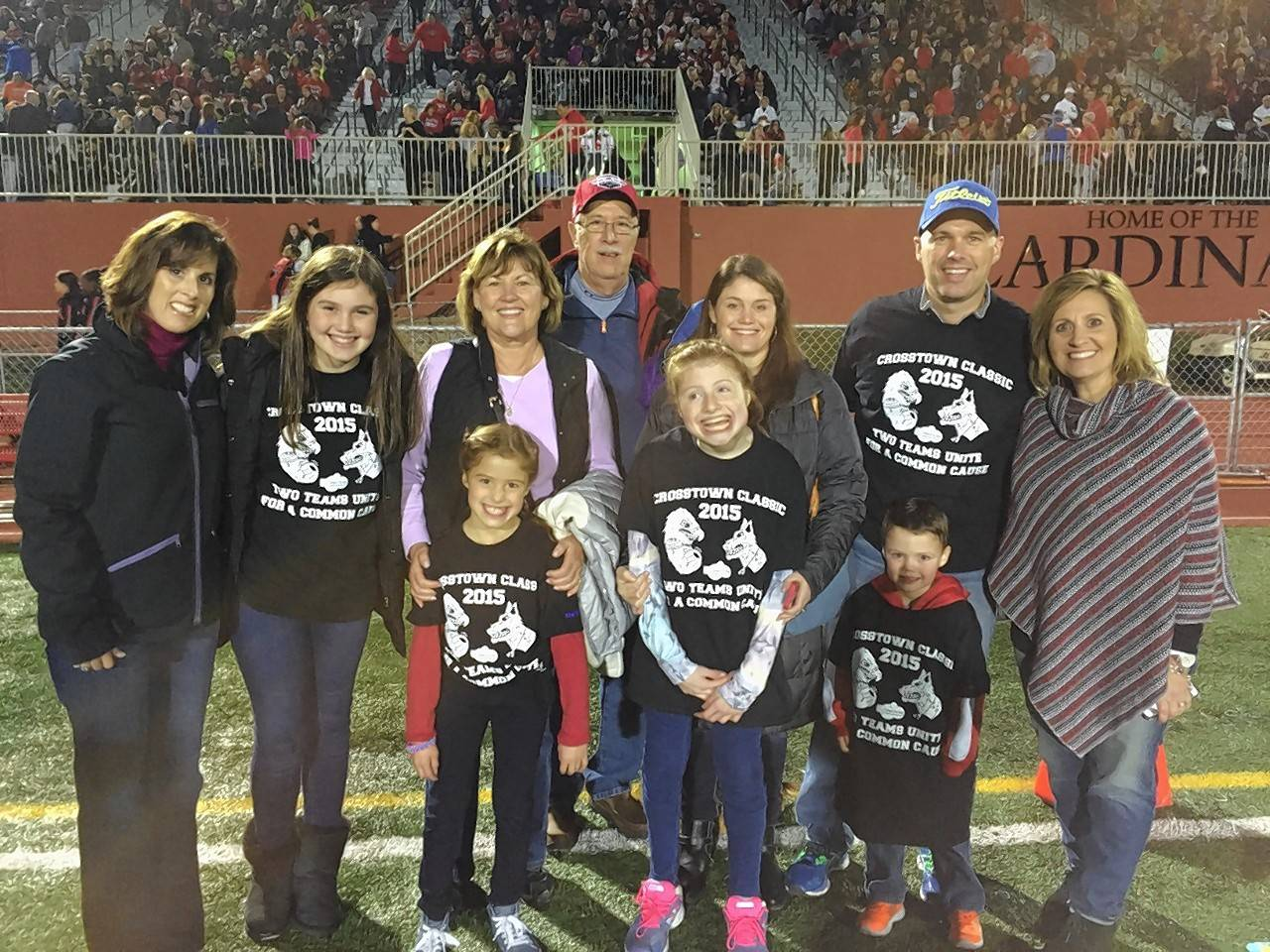 Charity strengthens Naperville-area football rivalries