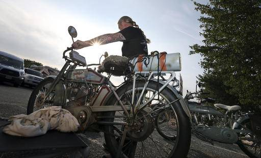 100 Years 3 300 Miles Vintage Motorcycles Hitting The Road