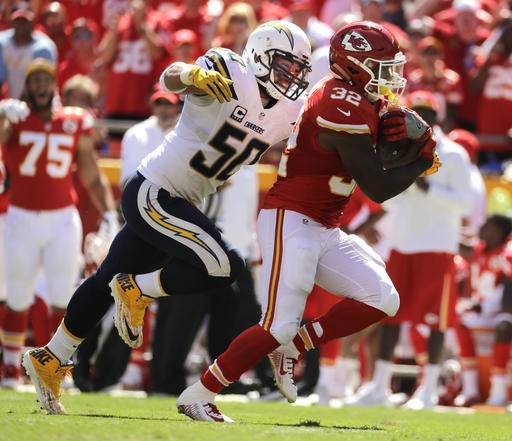 San Diego Chargers Chiefs Game: Chiefs' Spencer Ware More Than Jamaal Charles' Replacement
