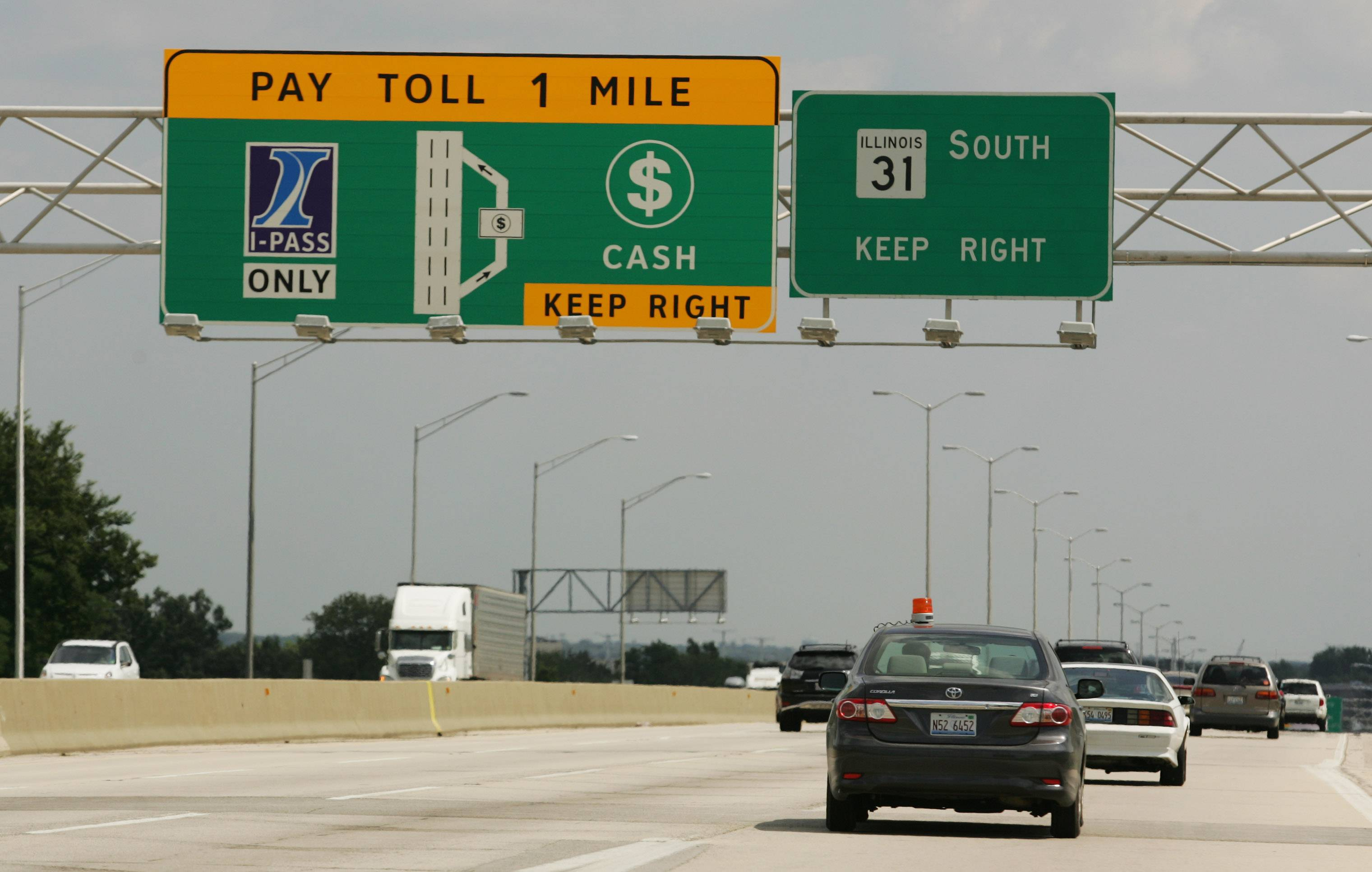The tollway's website upgrade is causing intermittent outages for customers trying to access I-PASS accounts and information.