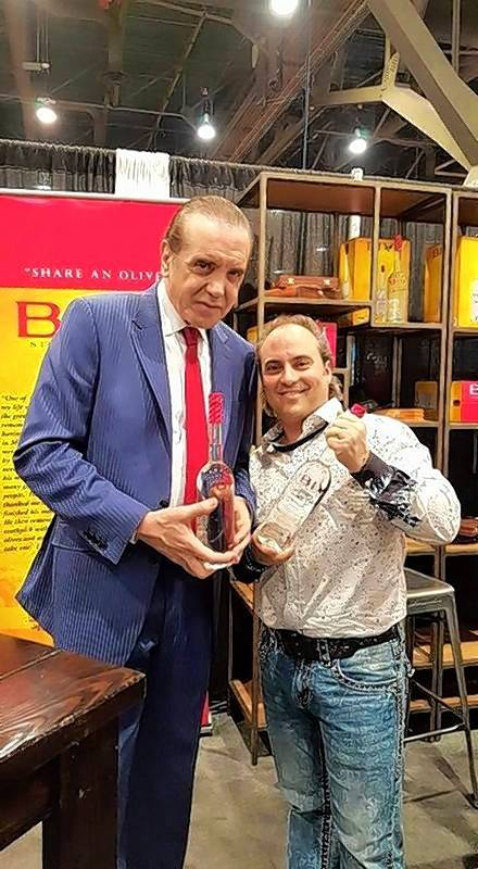 "Oscar-nominated film star Chazz Palminteri, left, brings his one-man show, ""A Bronx Tale Live,"" back to the Arcada Theatre in St. Charles on Saturday, Oct. 15."