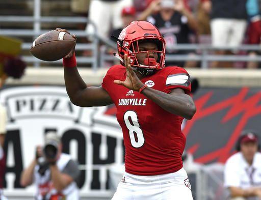 Jackson, No. 10 Louisville run over No. 2 Florida St 63-20
