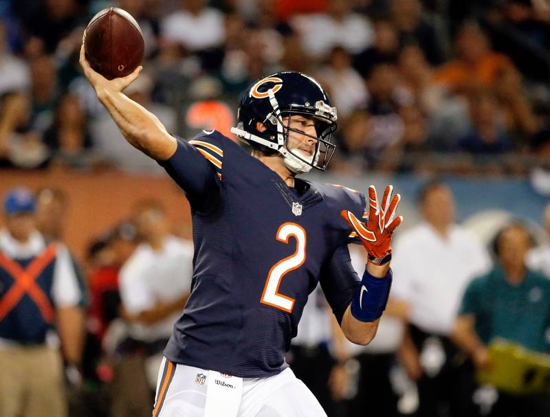 If Cutler can't play, Chicago Bears have confidence in Hoyer