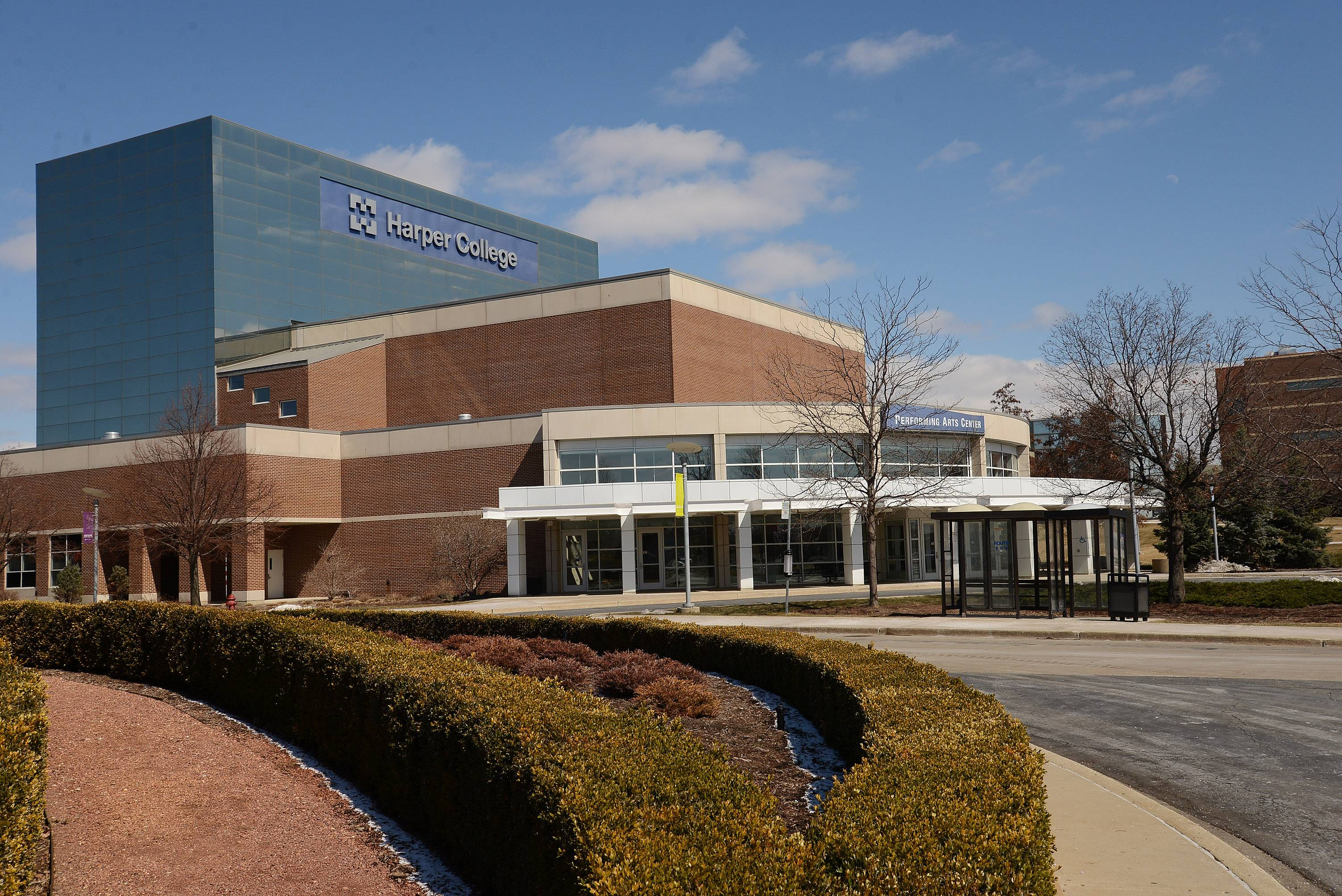 Property taxes are the main revenue source at suburban community colleges. At Harper College in Palatine, property tax revenue rose 35 percent over the past decade, while state funding rose 15 percent.