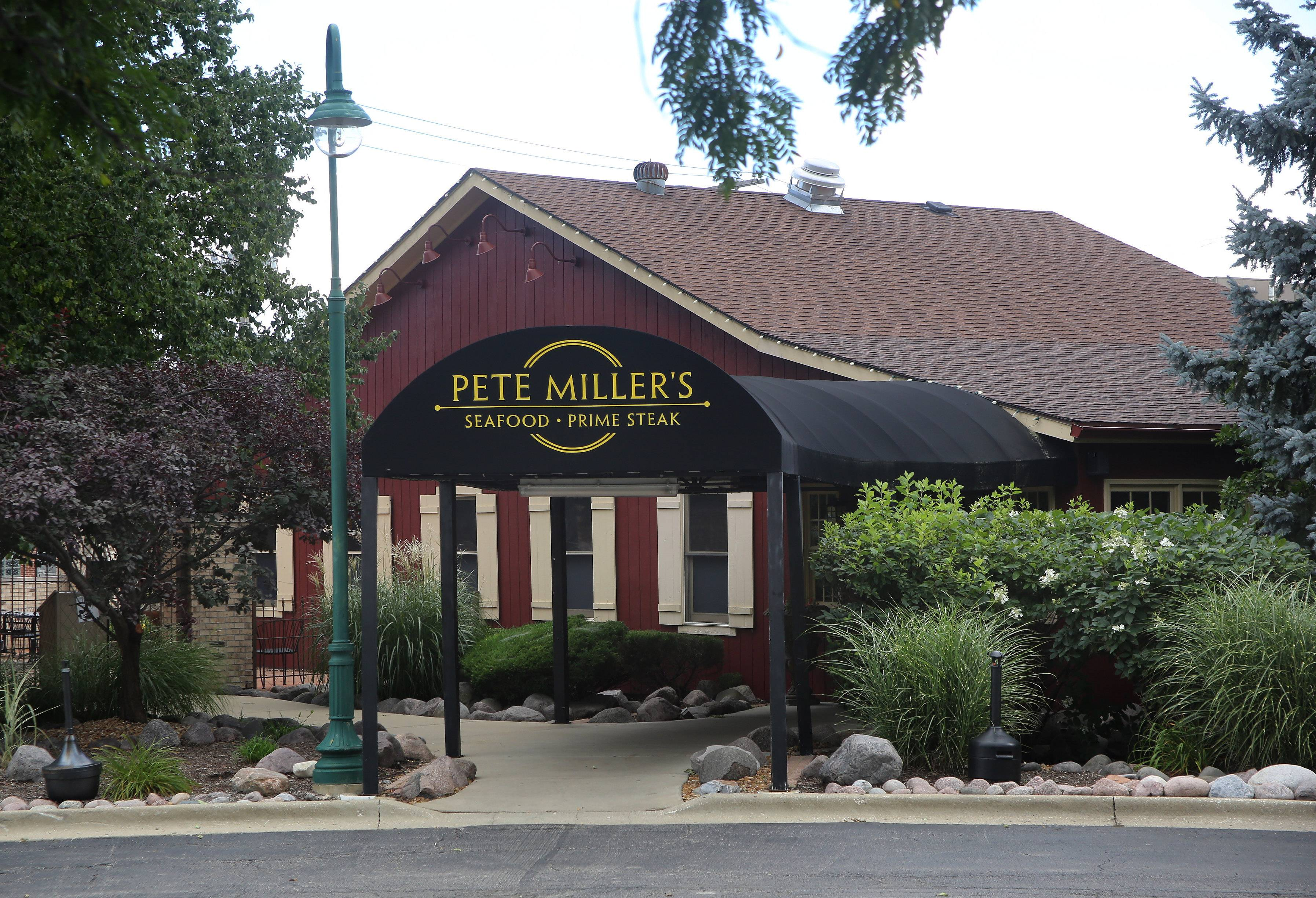Pete Miller's Steakhouse in Wheeling closed on July 31 and was recently sold to a private investor.