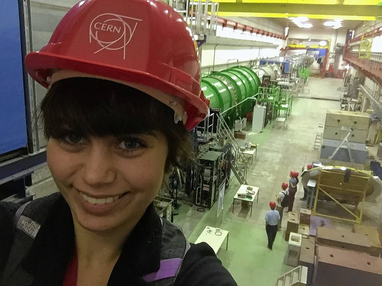 Naperville student interns at Europe's CERN lab