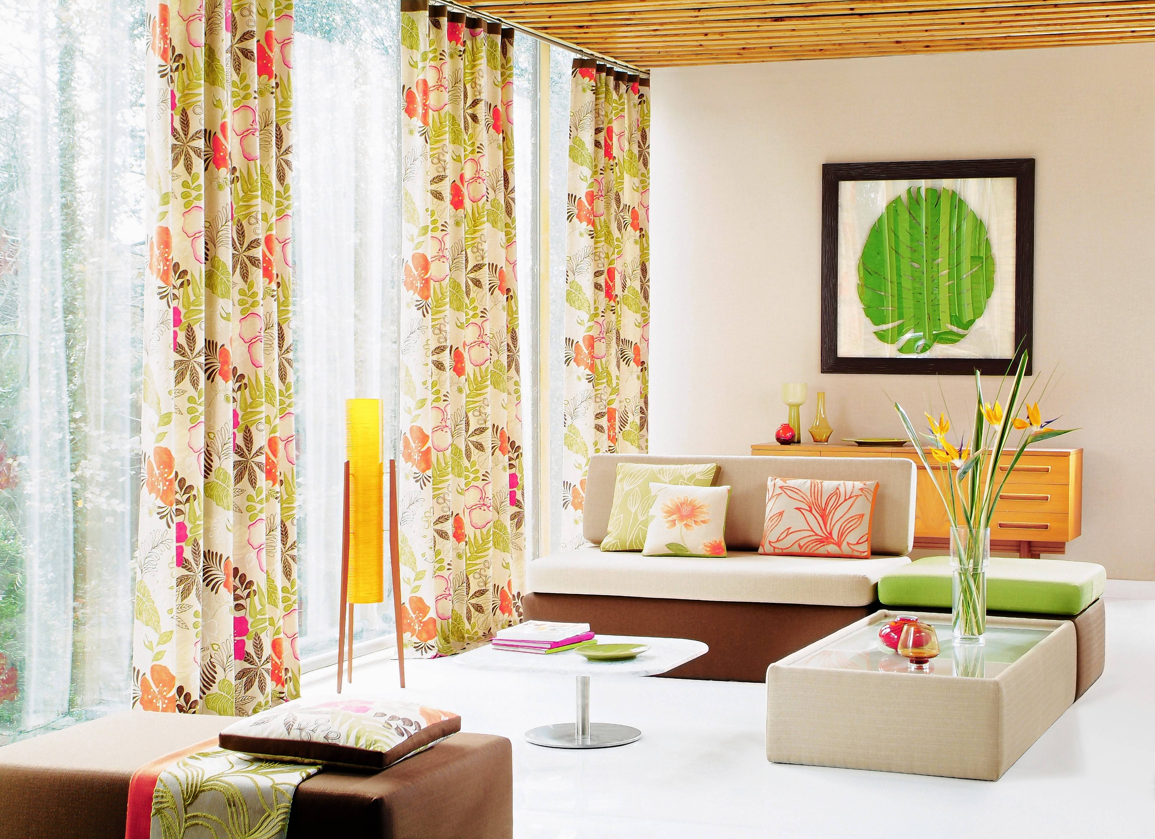 The key to a great looking window treatment? The right curtain length.