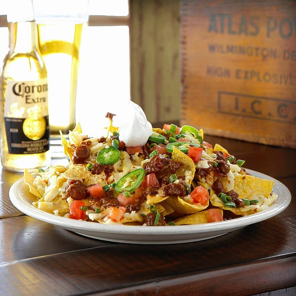 Say goodbye to summer with Ted's Montana Grill's special bison nachos.