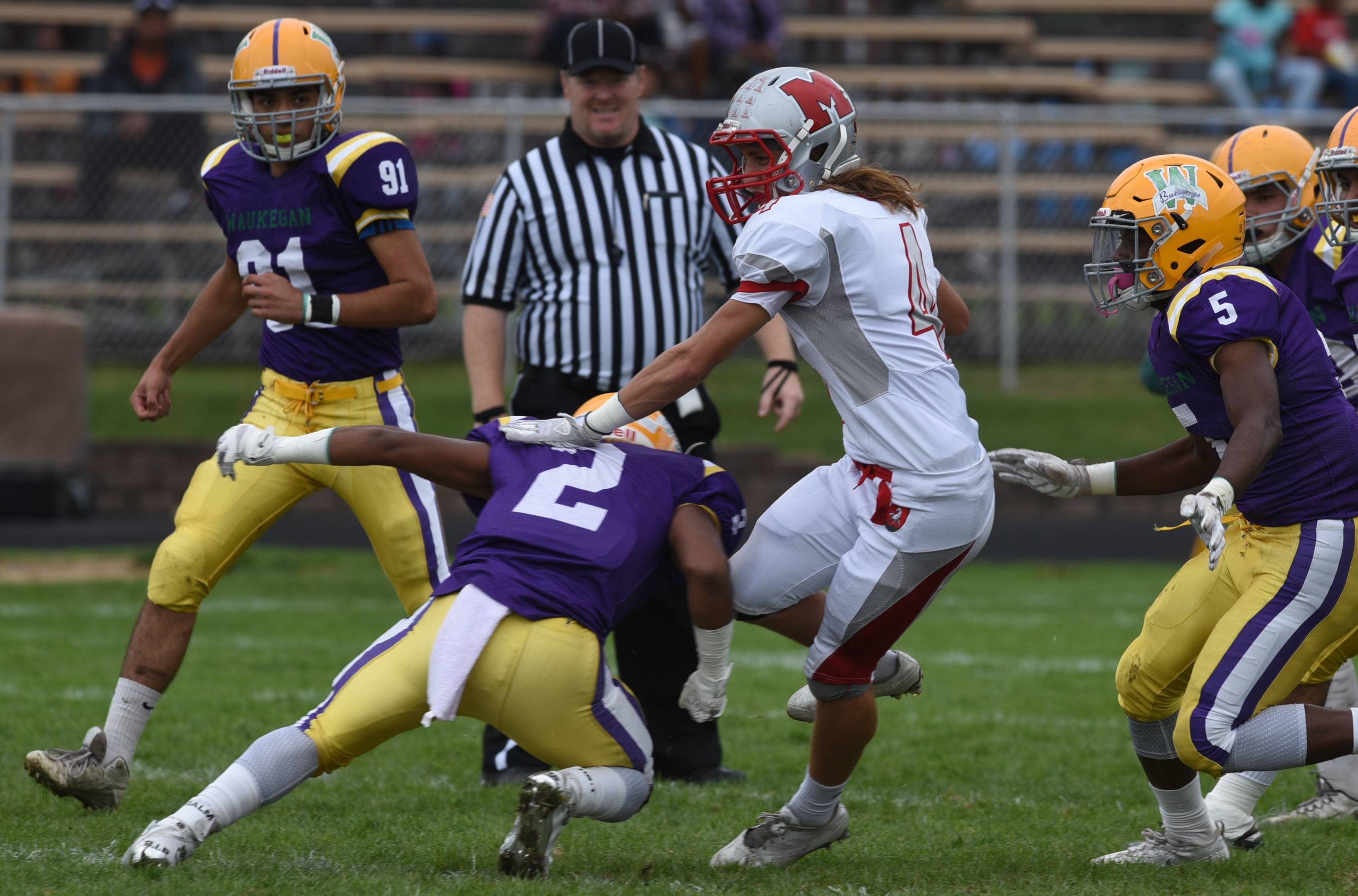Week -5- Photos from the Waukegan vs. Mundelein football game on Saturday, Sept. 24 in Waukegan.