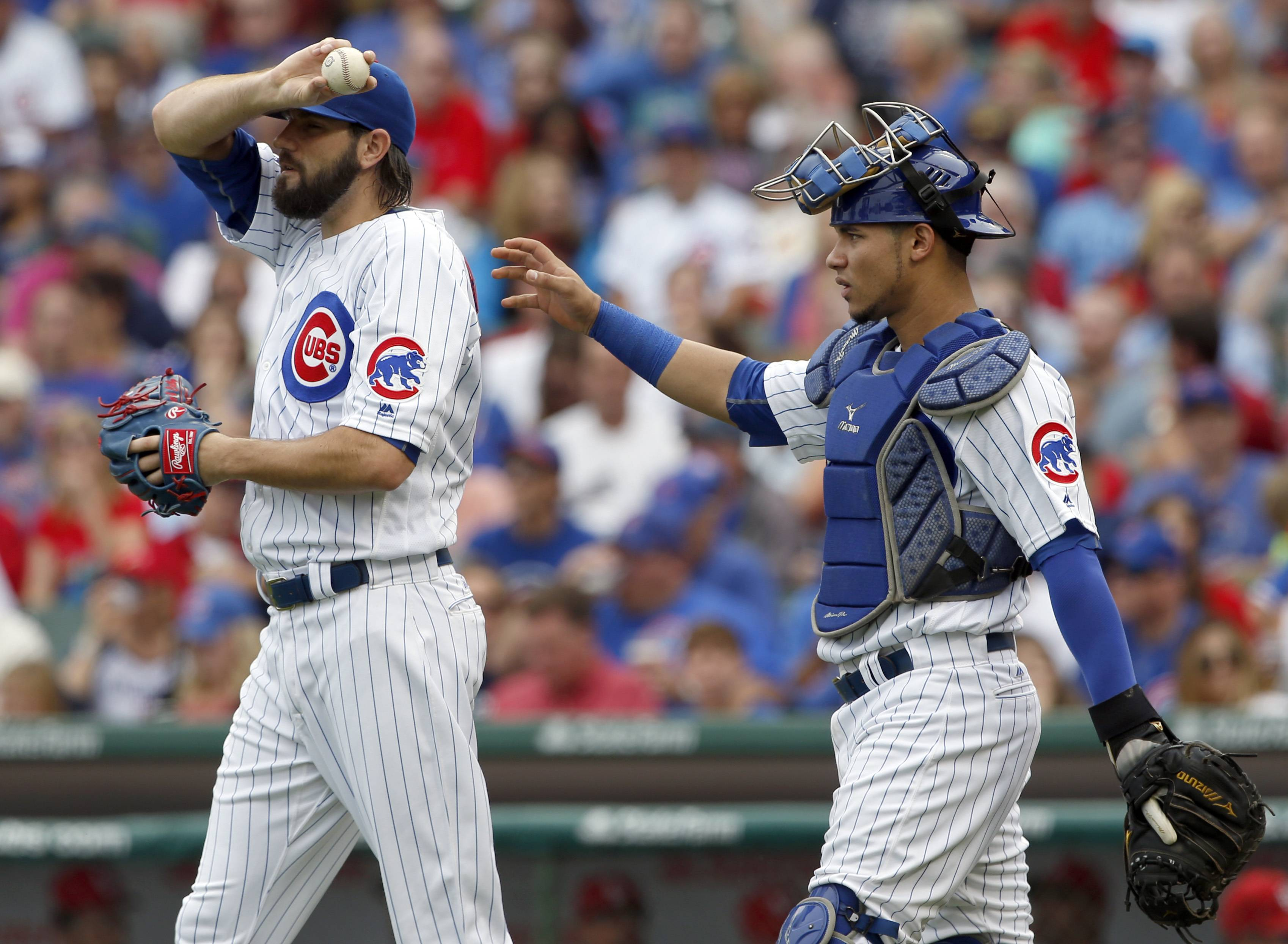 Right-hander Jason Hammel lasted only 2⅓ innings for the Chicago Cubs Saturday as they fell 10-4 to the St. Louis Cardinals at Wrigley Field. The Cardinals scored 4 runs off Hammel in the first inning.