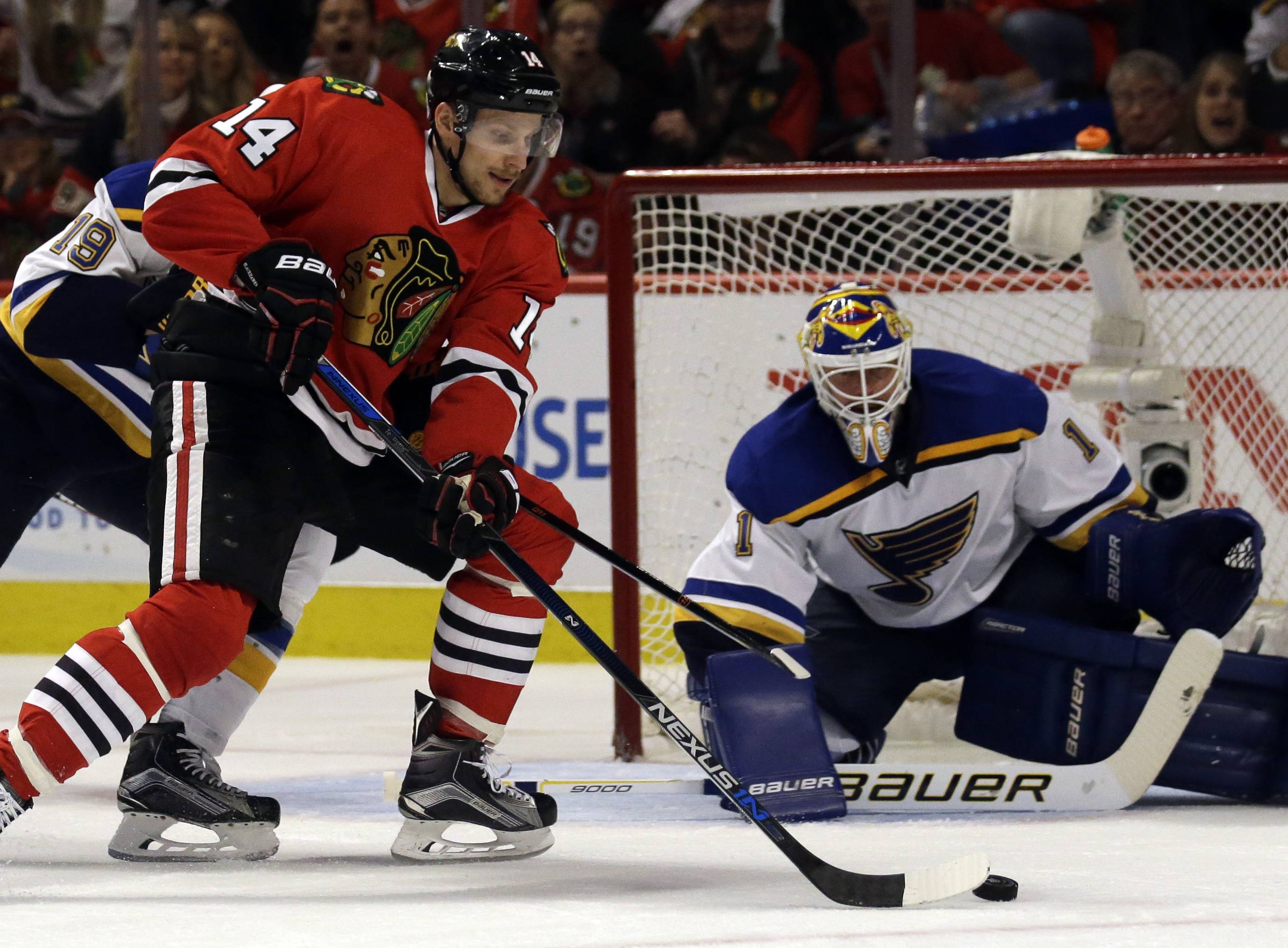 Chicago Blackhawks left wing Richard Panik has been making waves after getting off to a rough start in Chicago last season. At Saturday's training camp scrimmage, Panik continue his positive trend.