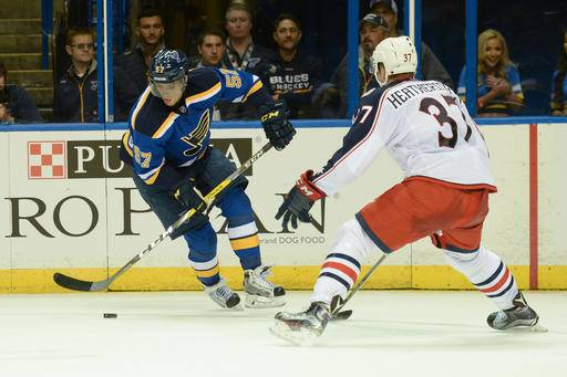 Blues open NHL preseason with 2 wins against Blue Jackets