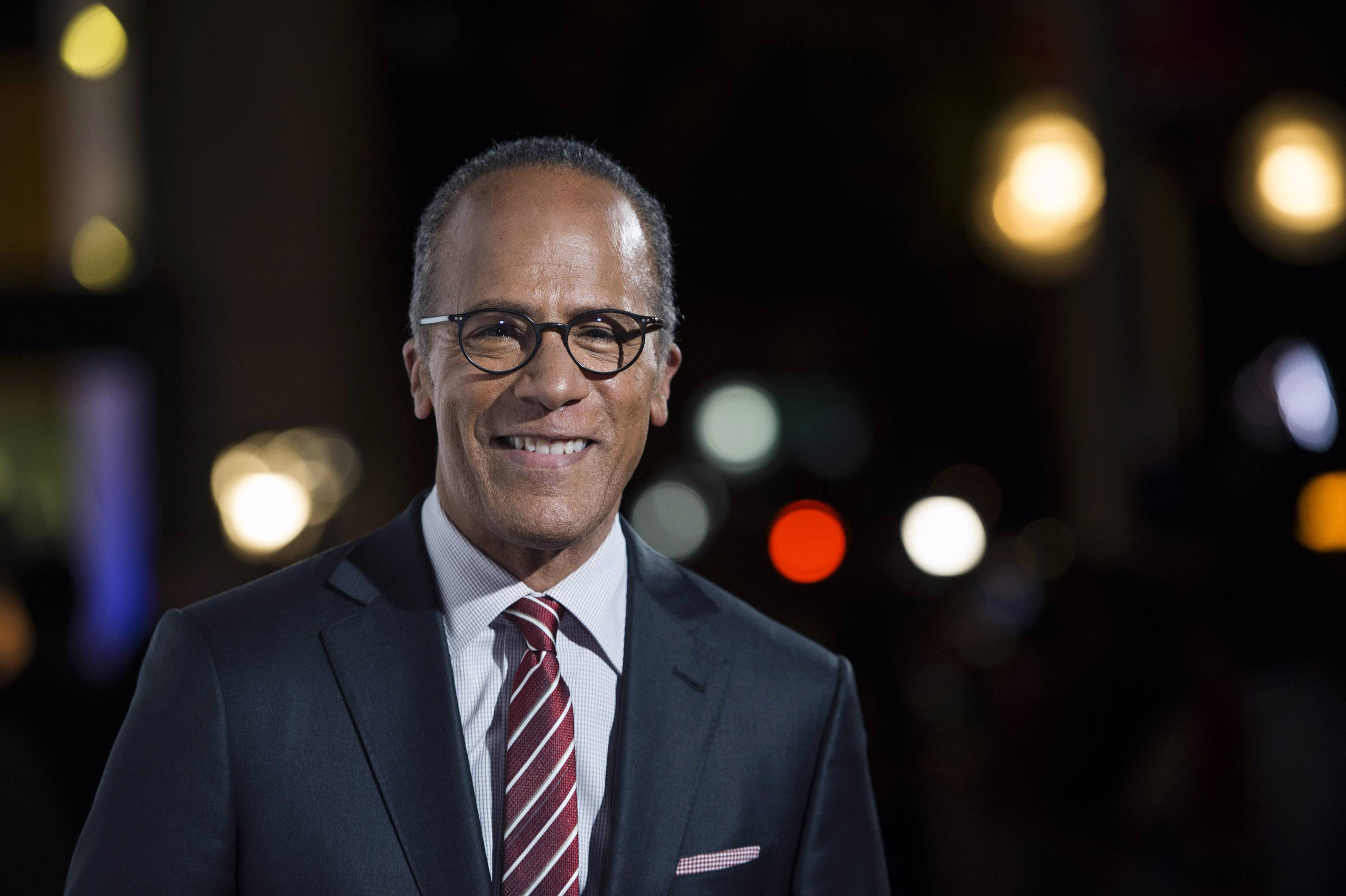 NBC Nightly News anchor Lester Holt a will moderate the first scheduled presidential debate with ABC's Martha Raddatz,