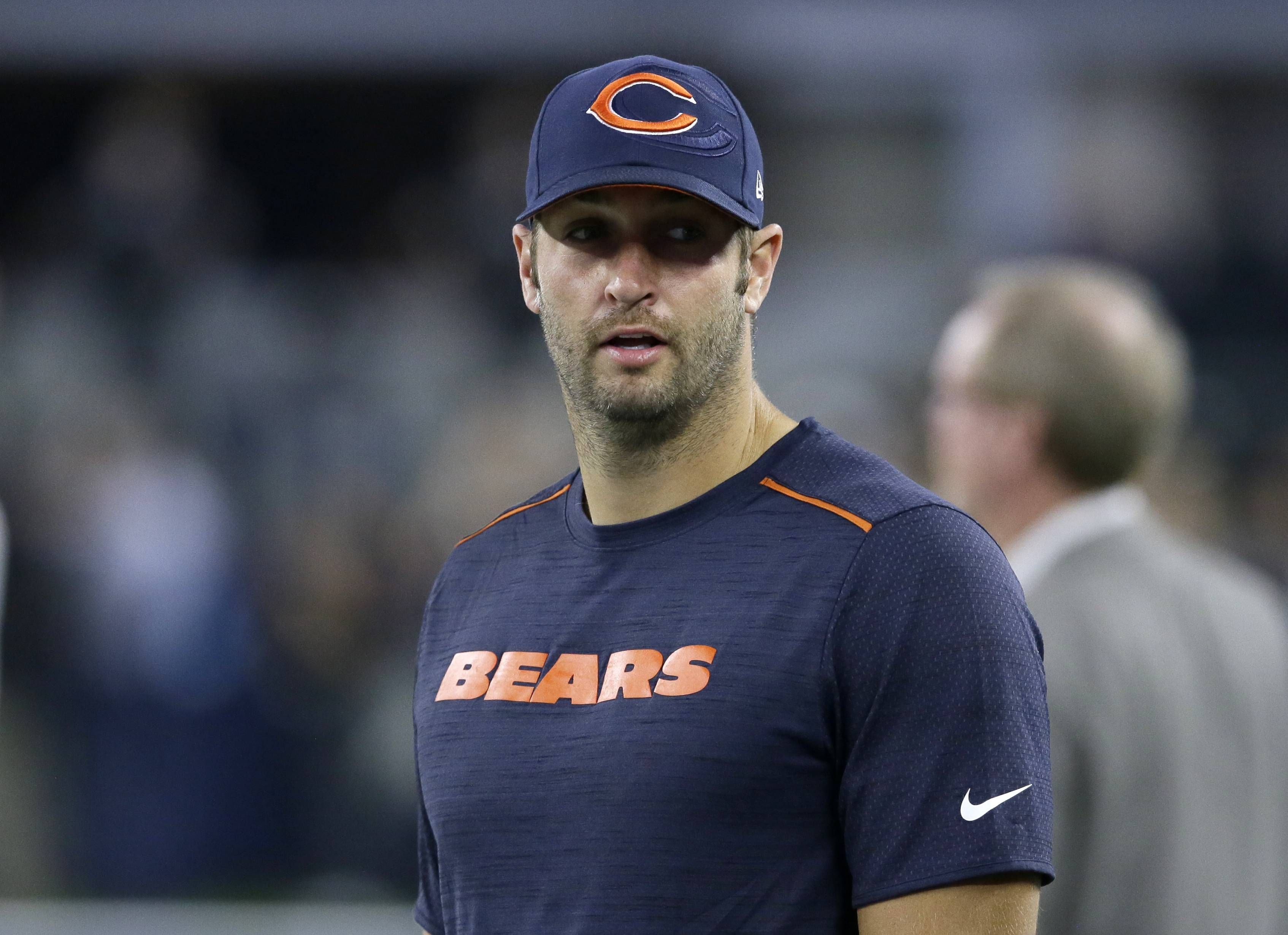 Chicago Bears coach John Fox said the starting quarterback slot isn't a given for Jay Cutler when he returns from injury. Cutler has been sidelined with a sprained thumb, and Brian Hoyer started Sunday night's loss in his place.