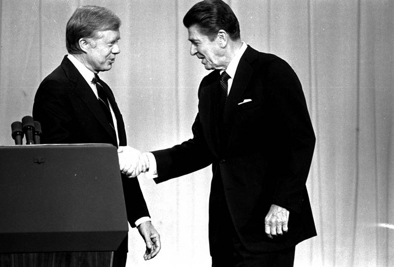 an analysis of republican reagans trade policy proposal during the 1980 presidential campaigns First principles, intercollegiate and the new hampshire primary during the 1980 presidential campaign were the most important time for the republican.