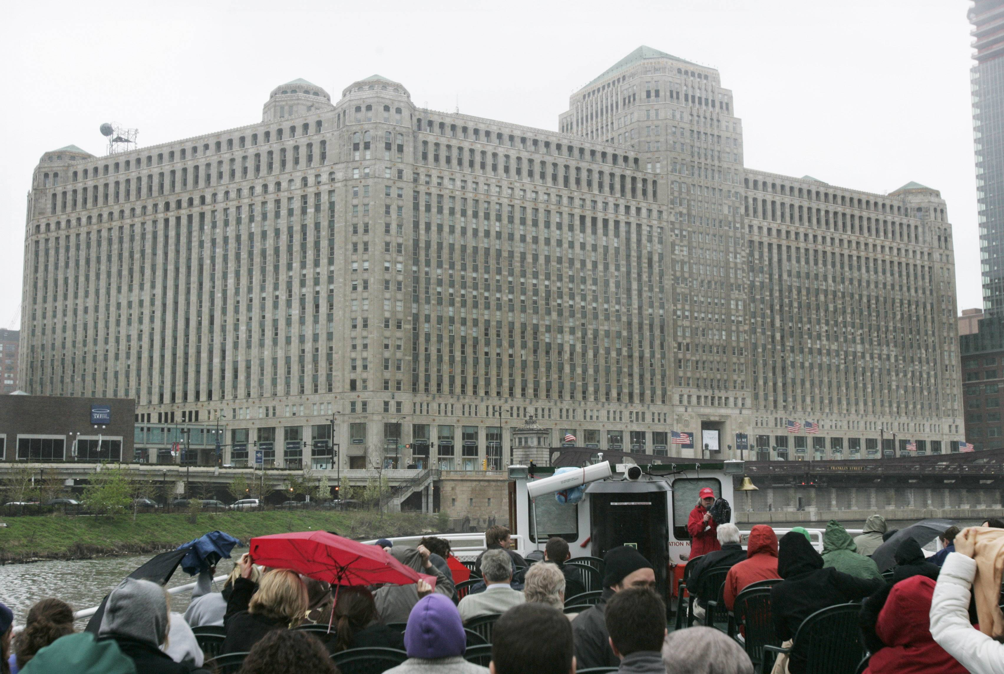 Motorola Mobility, which moved from Libertyville to the Merchandise Mart, above, in downtown Chicago, is planning more job cuts.