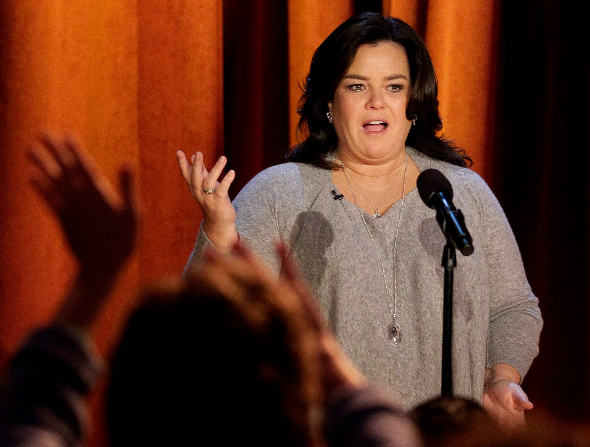 Rosie O'Donnell responds to Trump on Twitter