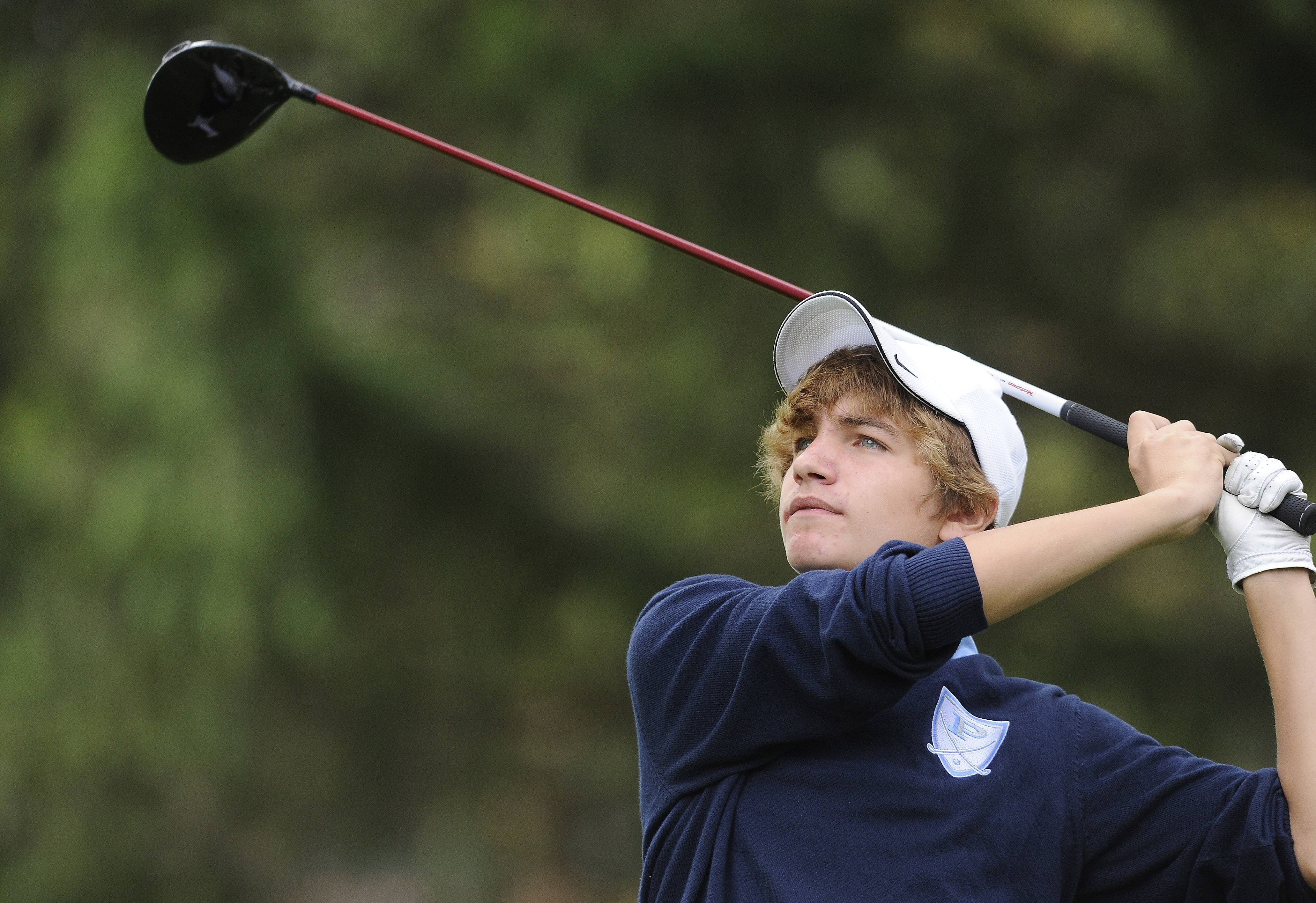 Boys golf: Record showing from Tenuta as Prospect, Barrington share overall MSL title