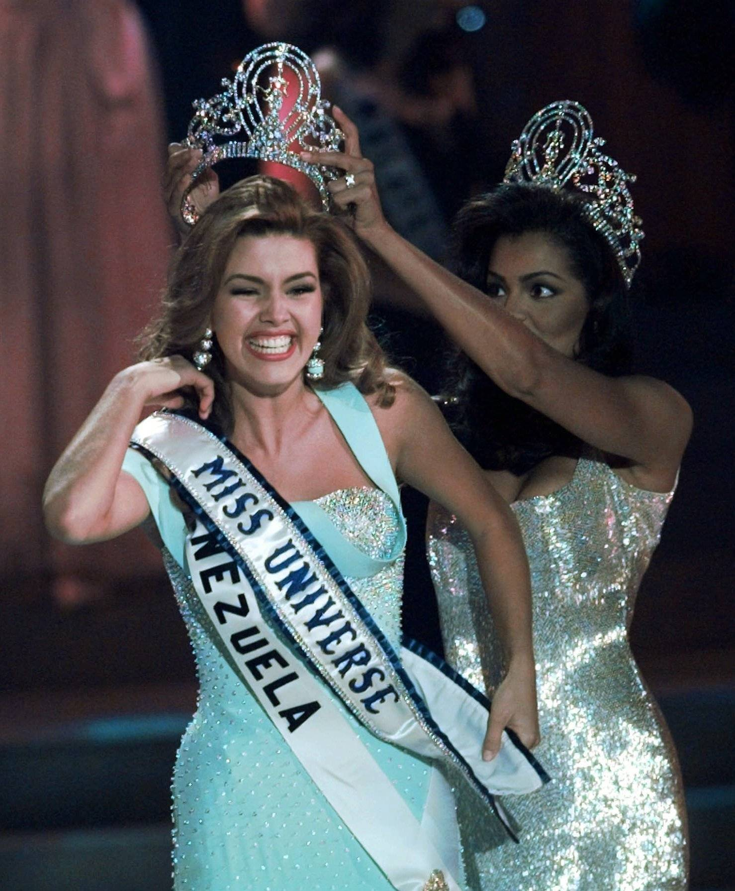 "Former Miss Universe Alicia Machado of Venezuela alleges that Trump called her names such as ""Miss Piggy"" and ""Miss Housekeeping"" when she gained weight after winning the Miss Universe crown in 1996."