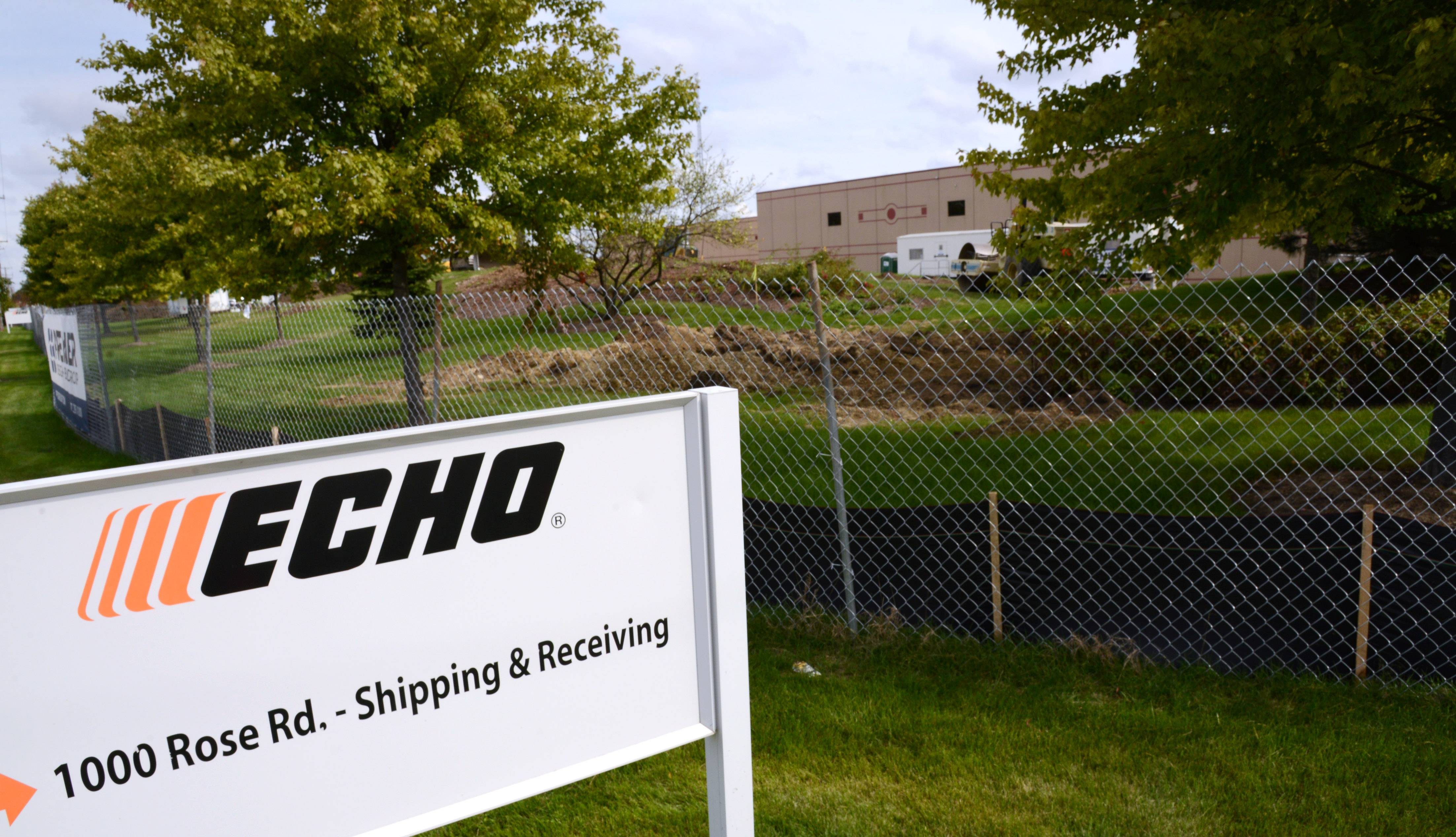Paul Valade/pvalade@dailyherald.comEcho Inc., the maker of high-end gas powered outdoor power equipment, is expanding in Lake Zurich again.