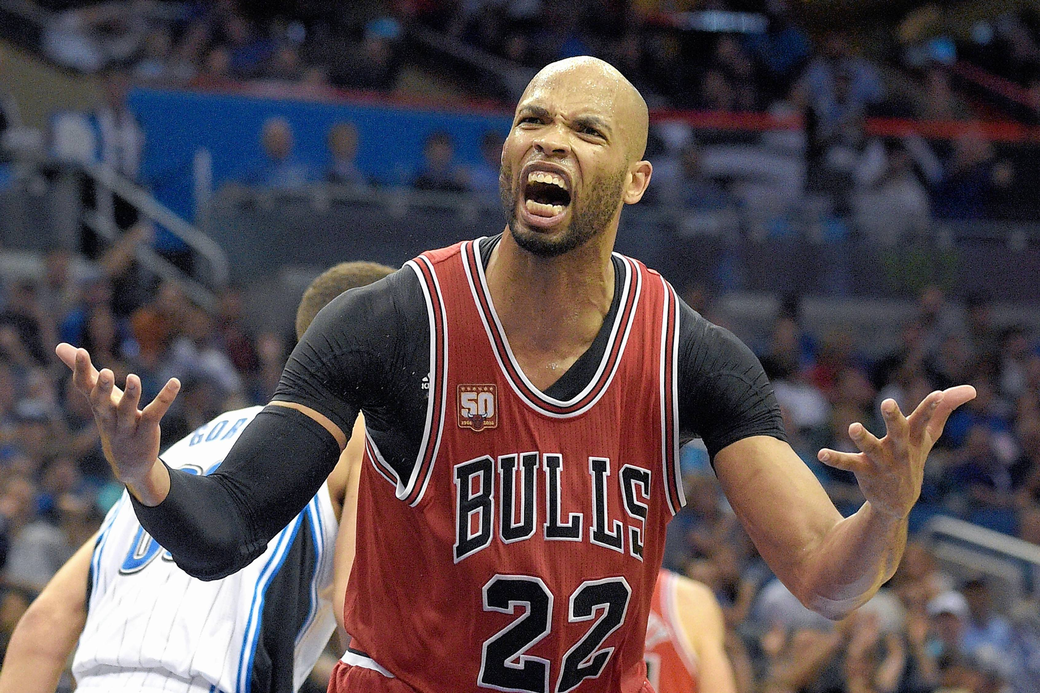 He's not the oldest player on the Chicago Bulls, but forward Taj Gibson has been with the team the longest of anyone on this year's roster.