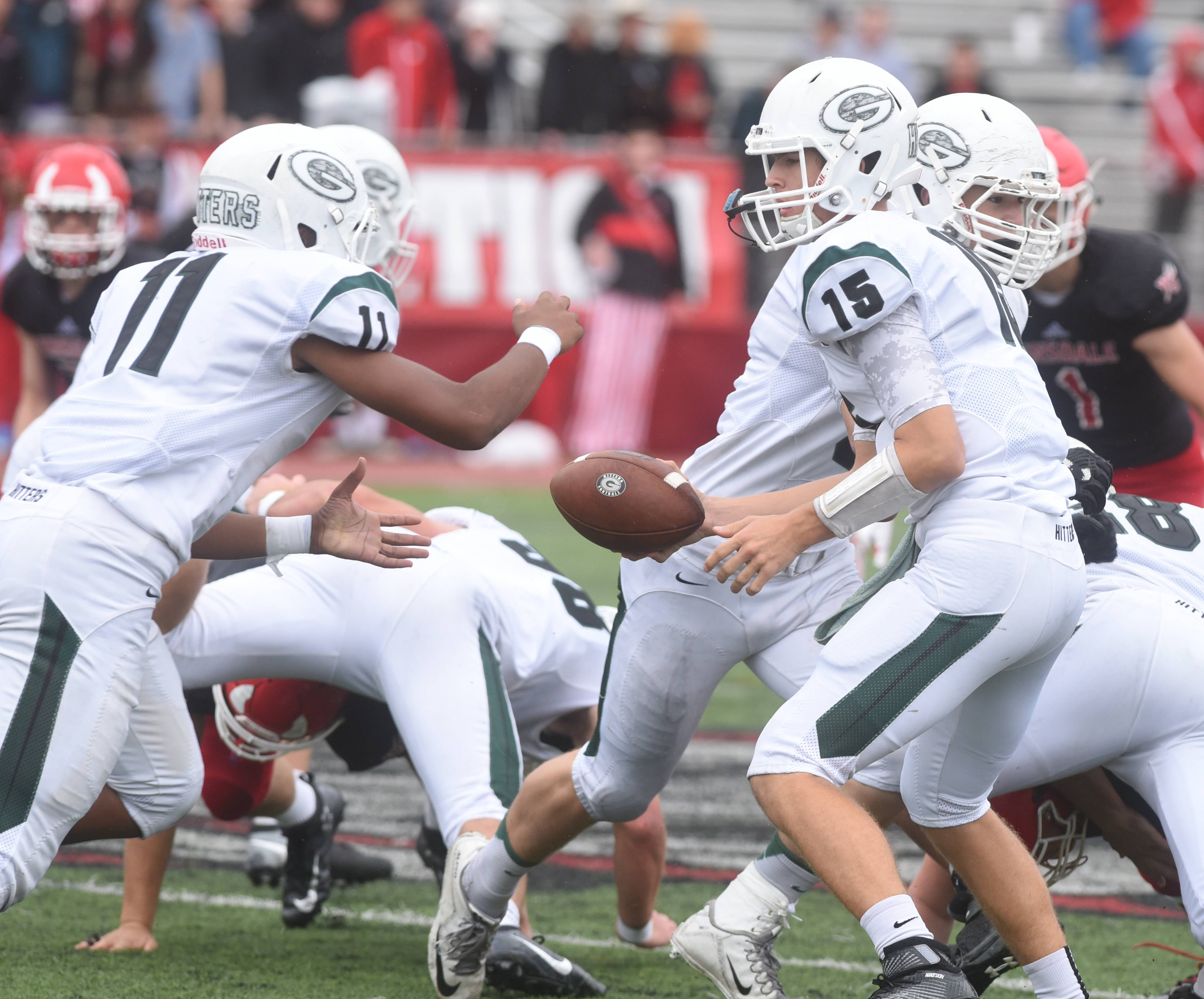 Week -6- Photos from the Glenbard West vs. Hinsdale Central football game on Saturday, Oct. 1, in Hinsdale.