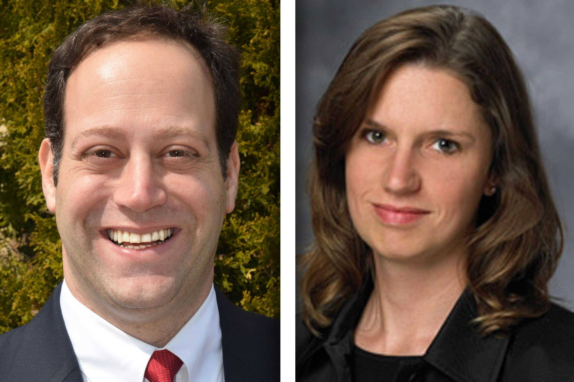 Republican Keith Brin and Democrat Erin Cartwright Weinstein are candidates for Lake County circuit court clerk.