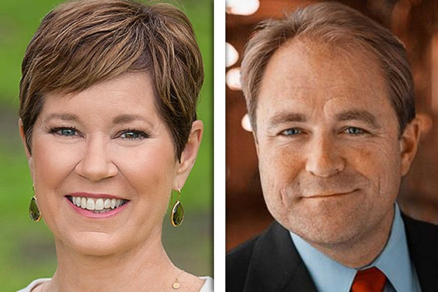Democrat Kelly Mazeski, left, and Republican Dan McConchie are candidates for state Senate in District 26.