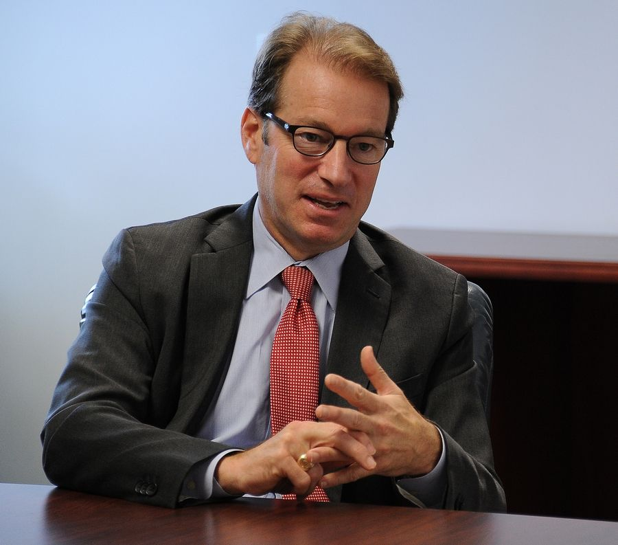 U.S. Rep. Peter Roskam, a Wheaton Republican, says the border must be secured before other steps can be taken to reform the country's immigration policy.