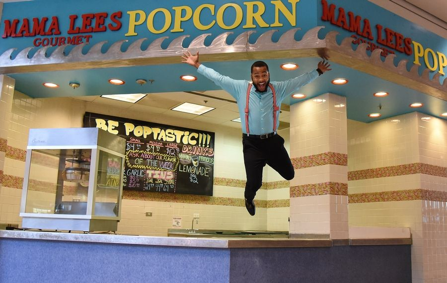 Chris Sumner, owner of Mama Lee's Gourmet Popcorn in downtown Elgin, is opening a second location Saturday at Spring Hill Mall in West Dundee. He said he'd like to open a third location, possibly in St. Charles.