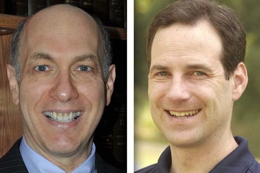 Republican Marty Blumenthal,, left, and Democrat Scott Drury are candidates for state representative in House District 58.