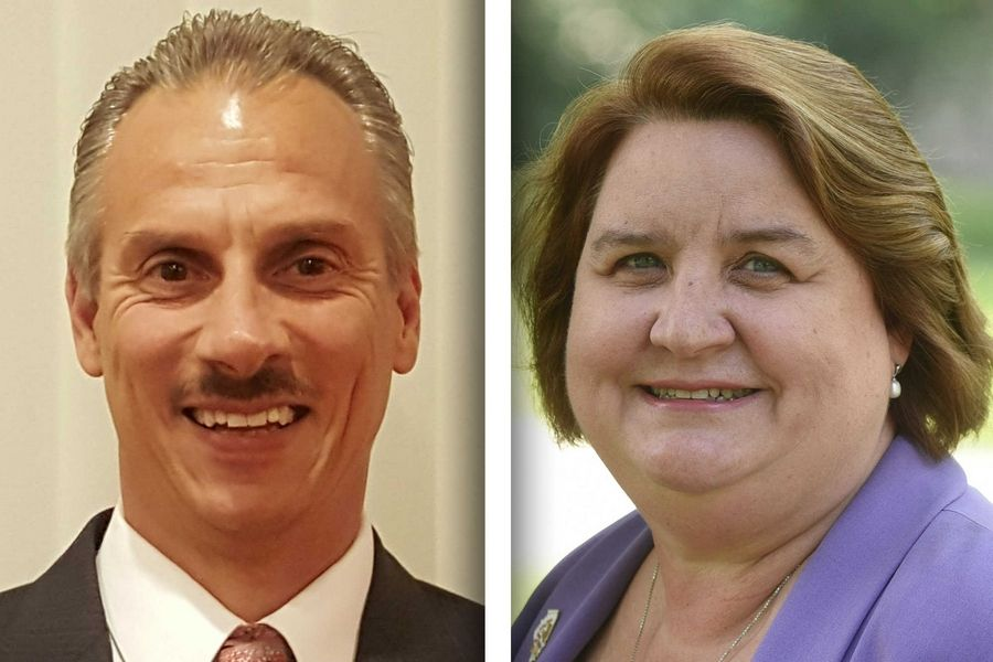 Anthony Airdo, left, and Kathleen Willis are candidates for state representative in House District 77