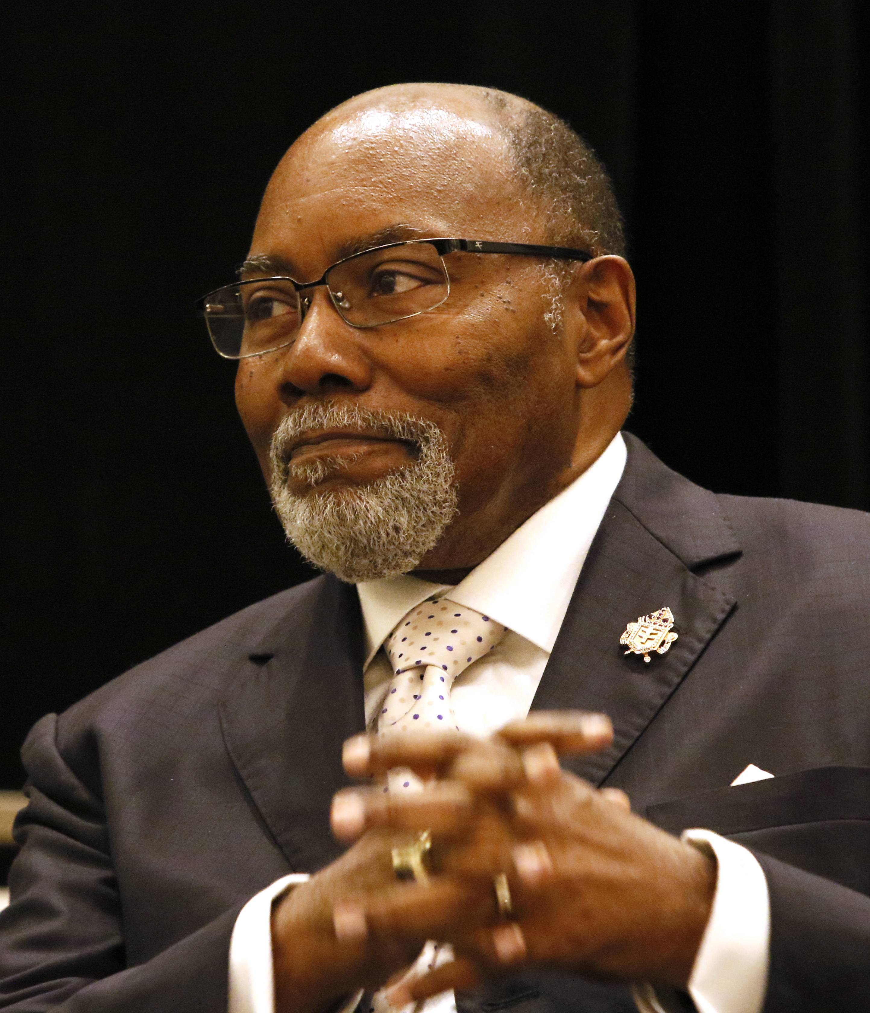 The right rev john f white bishop of the african methodist episcopal