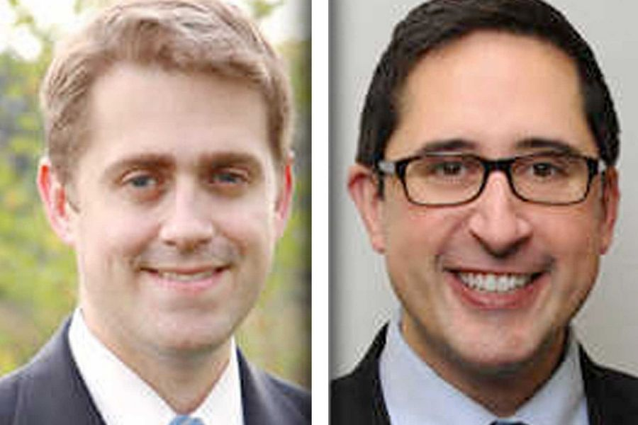 Republican Rod Drobinski, left, and Democrat Sam Yingling are candidates for state representative in House District 62.