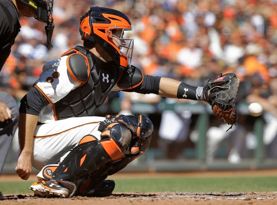 In his career, San Francisco Giants catcher Buster Posey has 5 hits in 16 at-bats (.313 BA) with 1 homer against Cubs starter Jon Lester.