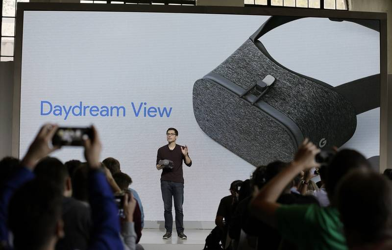 Introducing Google's Daydream VR headset