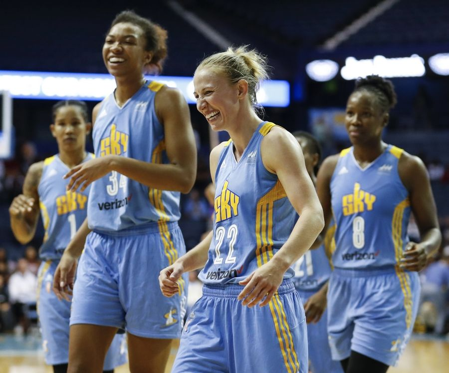 There's already change in the air with the Chicago Sky, which was eliminated from the WNBA playoffs just a few days ago. Longtime assistant coach Christie Sides just took a job at Northwestern. What else should the Sky change up before next season to make a better run at a WNBA Championship?