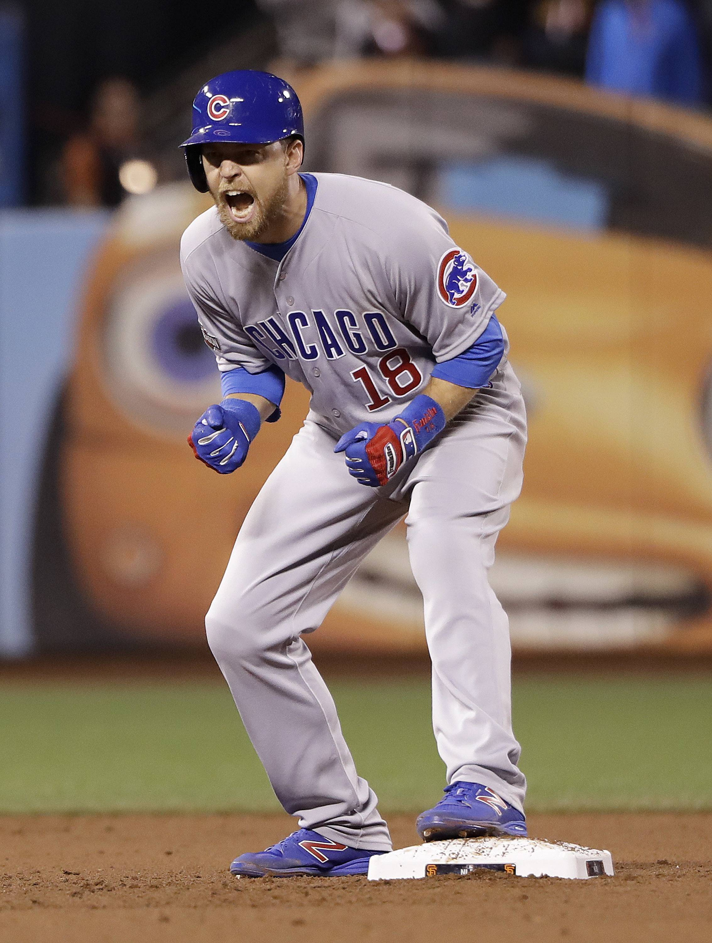 Images: Chicago Cubs clinch berth in NLCS