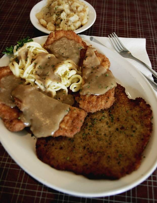 Homemade Pork Schnitzel Recipe — Dishmaps