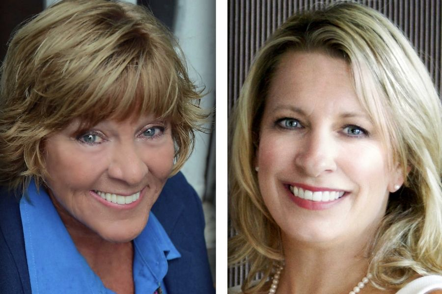 Judy Martini, left, and Niki Warden are candidates for District 5 of the Lake County Board