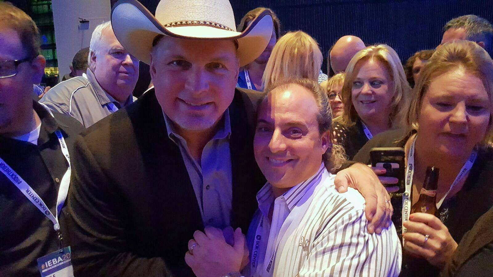 Ron Onesti had an opportunity to talk with country musician Garth Brooks on a recent trip to Nashville, Tennessee.