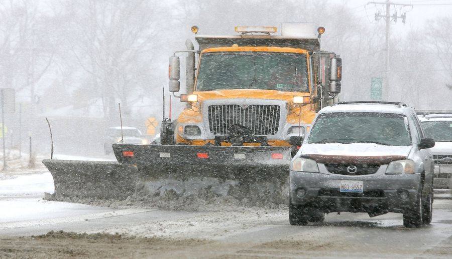 Lake County is being asked to plow some state routes this season as a precaution as the Illinois Department of Transportation awaits the arrival of new equipment.