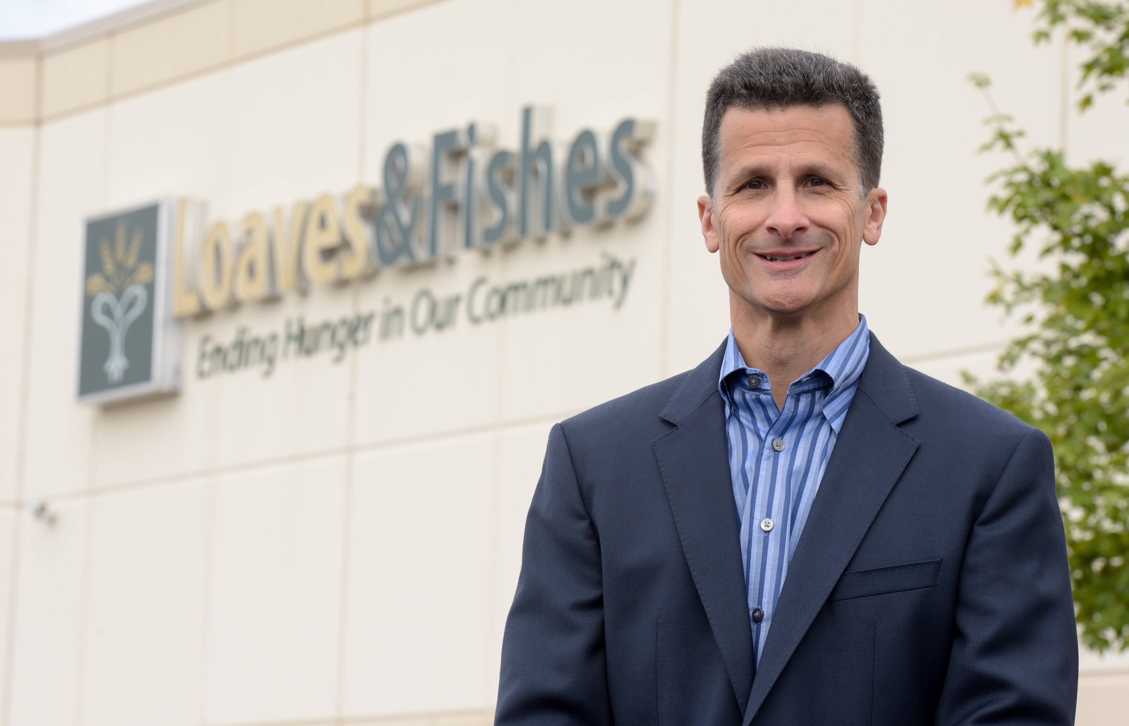 Corporate leader becomes CEO at nonprofit Loaves and Fishes