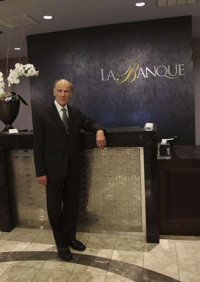 Claude Gendreau, 75, is a veterinary surgeon in Buffalo Grove, who owns and operates the Ravisloe Country Club, the La Banque Hotel and La Voute Bistro Bar at the hotel, all in Homewood.