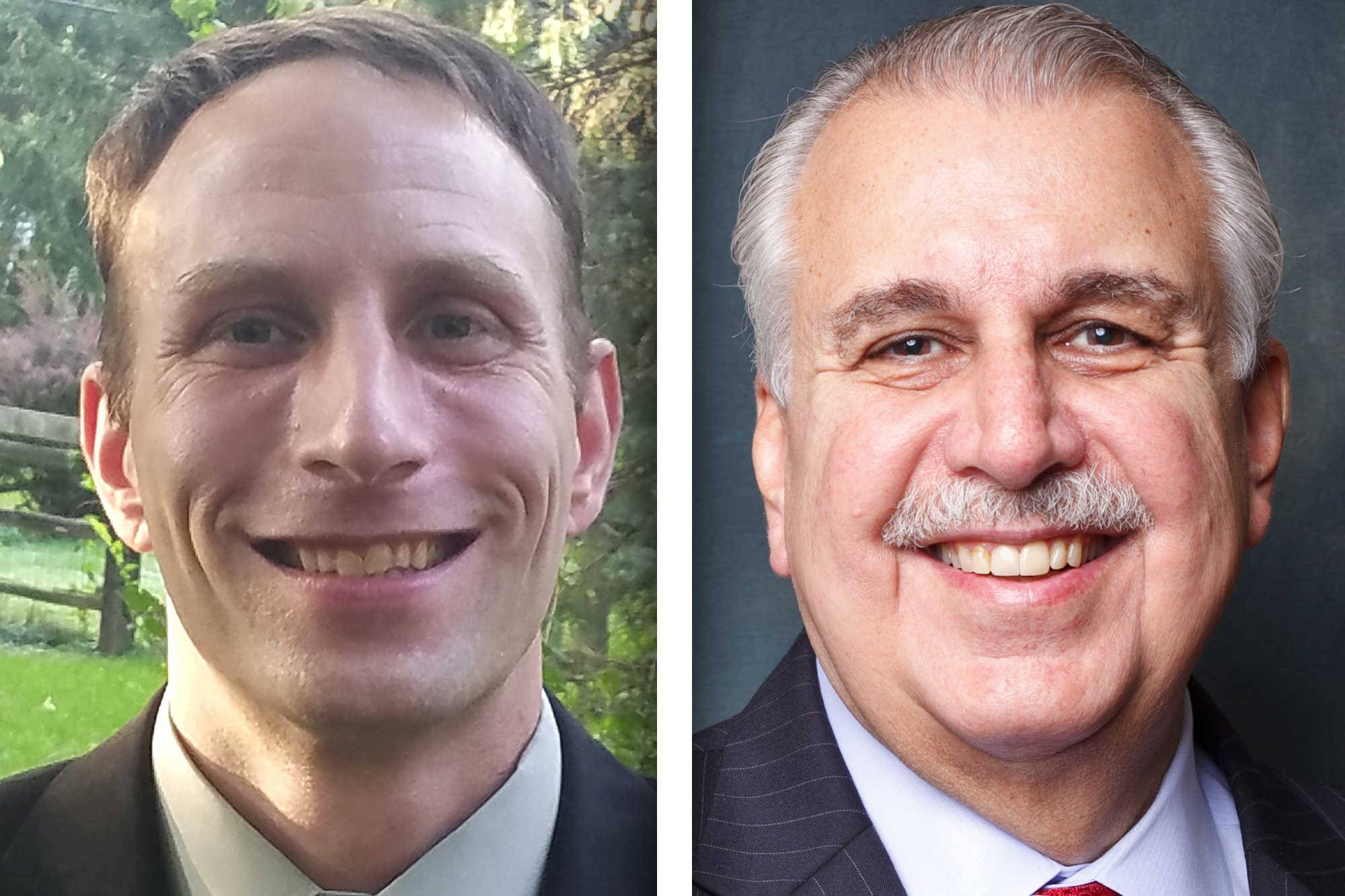 Democrat Richard Accomando and Republican Sam Tornatore are candidates for a 2-year, District 1 seat on the DuPage County Board.