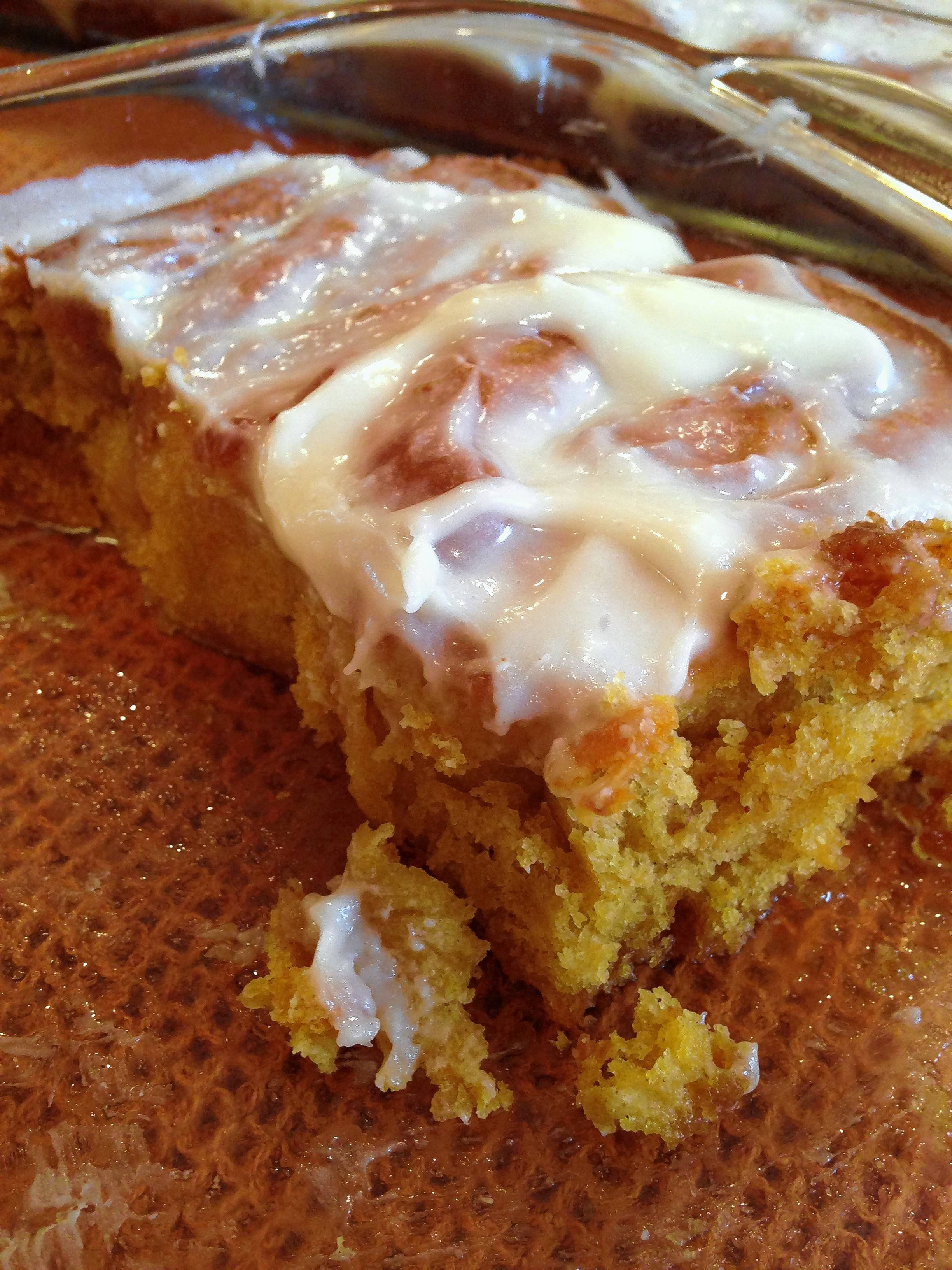 Think of these pumpkin cinnamon rolls as simply decedent seasonal comfort food.